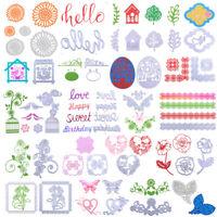 Flower DIY Craft Cutting Dies Stencils Scrapbooking Embossing Album Card Gift