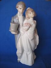 Lladro Figurine Bride and Groom 6164 Retired