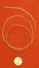 Gold Plated Wire Mil-Spec 70-80 Microinches **Very Hard to Find**