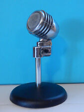 Vintage 1950S Era Amperite PGH Microphone With Stand Deco New York Antique Old