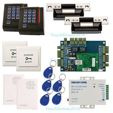 TCP/IP Network Controller Security Systems for 2 Door & ANSI Strike lock+Reader