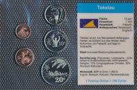 Tokelau-Inseln 2012 Stgl./unzirkuliert Kursmünzen 2012 1 Cent bis 20  (9164941