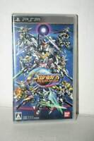 SD Gundam G Generation World Playstation PSP Import Game Japan Bandai used