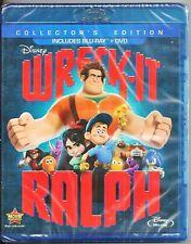 Disney Wreck-It Ralph Blu-ray + DVD Collector's Edition BRAND NEW