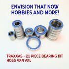 TRAXXAS - 21 Piece Rubber Seal Bearing Kit Hoss 4x4 VXL