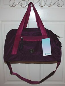 NWT Ivivva by Lululemon Got Game Purple Magenta Duffle Bag
