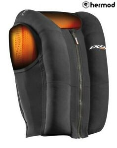 IXON IX U03 Motorcycle Motorbike Electronic Wireless Airbag - Black