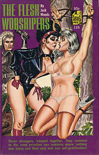 Vintage Sleaze PB Paperback - The Flesh Worshipers Satan Press ENEG Gene Bilbrew