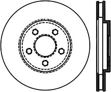 Disc Brake Rotor-Rear Drum Front Right Stoptech 128.63017R