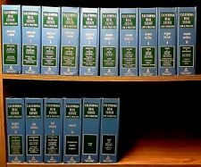 California Real Estate Law and Practice Complete Set 16 Vols Hardcover Binder VG