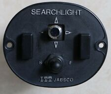 Jabsco Searchlight Spotlight Replacement Main Station Control Switch Panel 12V