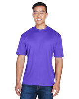 UltraClub Men's Cool & Dry Sport Tagless T-Shirt 8400 100% Polyester Mesh XS-6XL