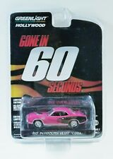 Greenlight Hollywood Gone In 60 Seconds 1971 Plymouth Hemi 'Cuda - Series 7