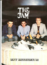 The Jam TOUR Programm : Beat Surrender Tour 1982