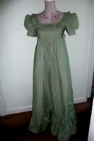 Vintage Laura Ashley 1970s Edwardian/Jane Austen Maxi Dress Made in Wales size14