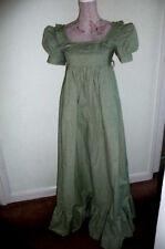 Vintage Laura Ashley 1970s Edwardian/Jane Austen Maxi Dress Made in Wales size14