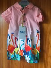 Baby Boys Ted Baker Romper Suits Age 0-3 Months New Tags