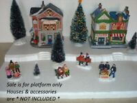 Christmas Village Display Platform JH2 For Lemax Dept56 Dickens North Pole+More
