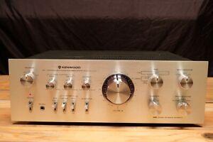 Vintage Kenwood DC Stereo Integrated Amplifier  Model KA-7100  Dual Power Supply