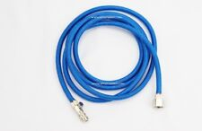 """Braided Air Hose 6ft quick coupling-1/4"""" WITH AIR VALVE"""