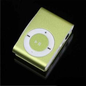 Portable MP3 player Mini Clip MP3 Player waterproof sport music player +earphone