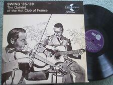 Swing '35-'39 The Quintet Of The Hot Club Of France ECM 2051 Vinyl LP Album