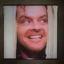 The Shining Jack Nicholson Ceramic Tile Coaster Here's Johnny