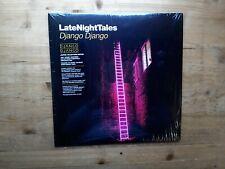 """Late Night Tales Django Django Near Mint 2 x Vinyl Record & 7"""" Single ALNLP35"""