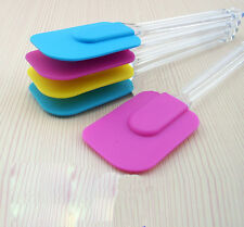 Silicone Kitchen Cake Cream Spatula Mixing Scraper Brush Butter Baking Tool