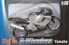 Yamaha Thunderace 1000 Maisto 1/18 Motorcycle FREE SHIPPING!