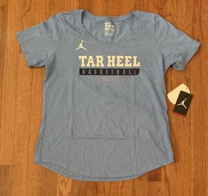 North Carolina Tar Heels UNC Basketball Elite Nike Women's Shirt NWT XL
