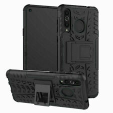For iPhone XR Case Cover - Shockproof Tyre design, stand, tough hard Back Case