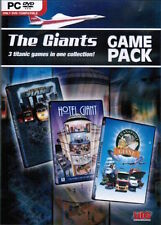 Giants Game Pack PC Game Window 10 8 7 XP Computer hotel giant transport traffic