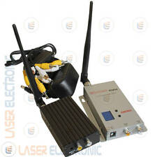 KIT TRASMETTITORE WIRELESS AUDIO-VIDEO ALTA POTENZA SENZA FILI 1.2ghz 2000mW