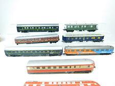 AT251-2# 7x Roco/Liliput/Fleischmann etc H0/DC Bastler-Personenwagen etc