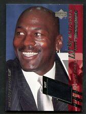 2000 UD MJ Materials #MJ1 Michael Jordan Suit Patch Bulls HOF
