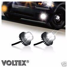 VOLTEX 2pc Clear 2nd Gen. 6W LED Hide-Away Strobe Kit Vehicle Lightbar Bar
