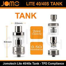 Jomotech Lite 40/40S kit E Cigarettes E Shisha Vape Pen Vaporizer Mod TPD Tank