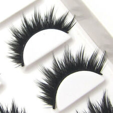 LASGOOS Design Hand-made 6 Pairs Elegant False Eyelashes Party Queen Lashes