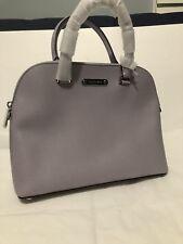 MICHAEL KORS CINDY LARGE Dome Satchel Crossbody Bag Handbag Lilac Purple New Nwt
