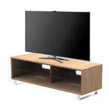 Meubles TV et solutions média en chêne pour la salle à manger