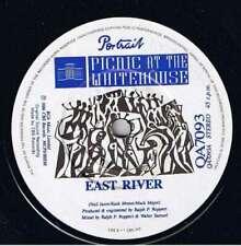 """Picnic At The Whitehouse East River 7"""" Single Vinyl Schallplatte 22309"""