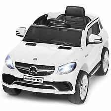 12V Mercedes Benz GLE Licensed Kids Ride On Car RC Electric Vehicle w/ MP3 White