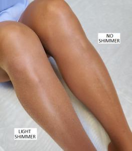 2 X TALL = Q Tamara Shimmery Suntan Toeless Pantyhose Hooters Uniform 55 denier