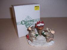Dean Griff Charming Tails Silvestre Mackenzie & Maxine Caroling Mice