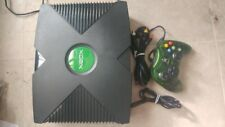 Original Xbox Microsoft Console Video Game System Complete Tested
