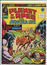 PLANET OF THE APES AND DRACULA LIVES! #92 (7.5) UK MAGAZINE