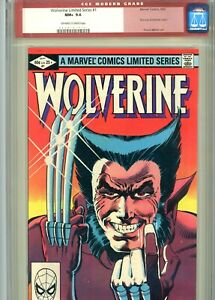 Wolverine 1 CGC 9.6 Limited Series 1982 Rare CGC Legacy Red Label