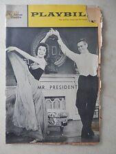 December 31st, 1962 - St. James Theatre Playbill - Mr. President - Robert Ryan