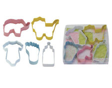 Set of 5 Baby Shower Cookie Cutters | Decorations Games Gender Reveal
